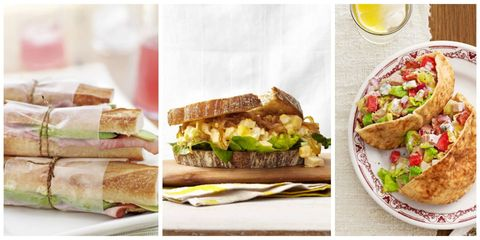 40 easy healthy lunch ideas best recipes for sandwiches and salads