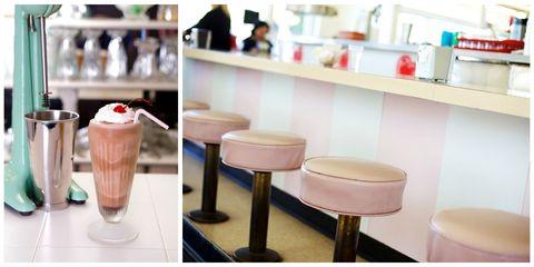 Drinkware, Bar stool, Dessert, Drink, Non-alcoholic beverage, Dairy, Milkshake, Frozen dessert, Mocaccino, Sweetness,