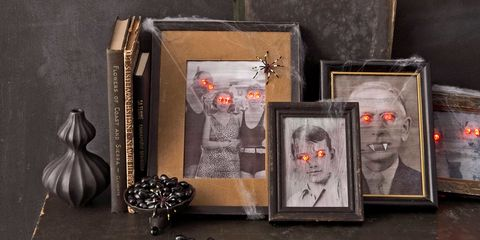 halloween craft paranormal portraits