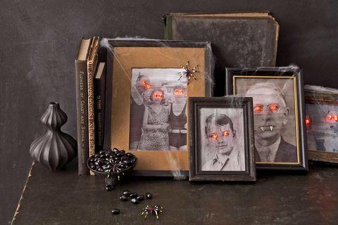 halloween craft paranormal portraits