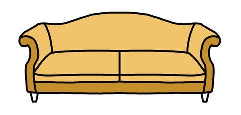sofa styles camelback