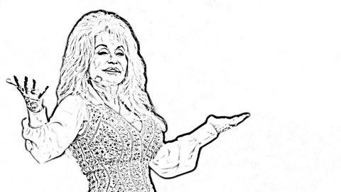 Dolly Coloring Book