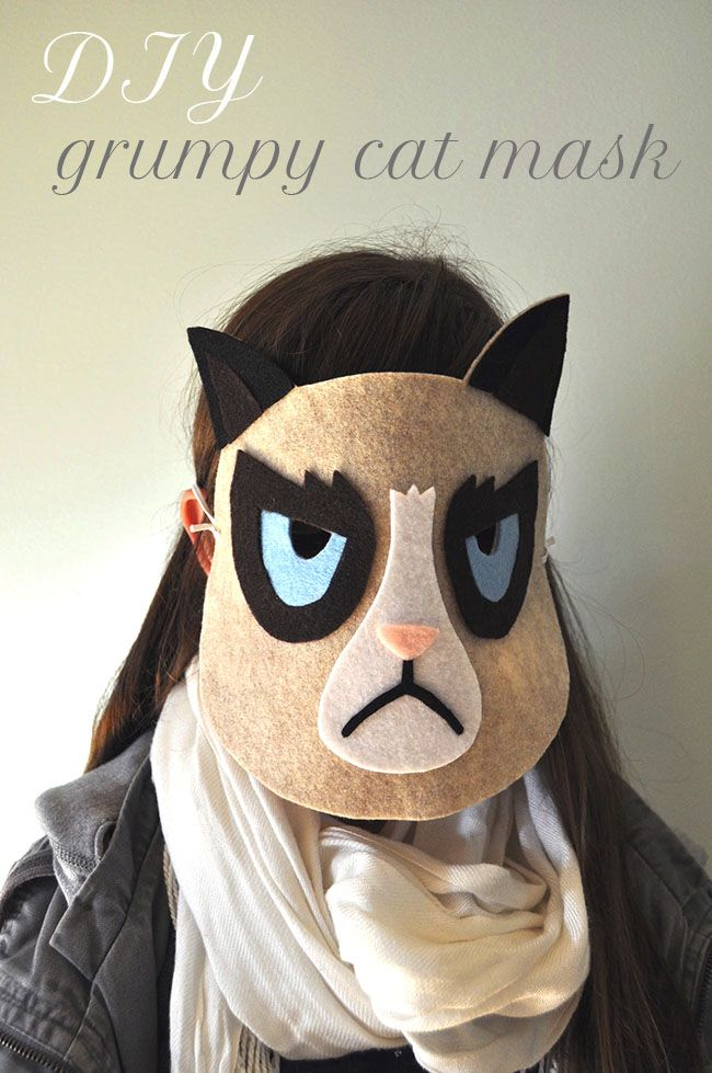 25 Easy DIY Halloween Masks - How To Make a Halloween Mask
