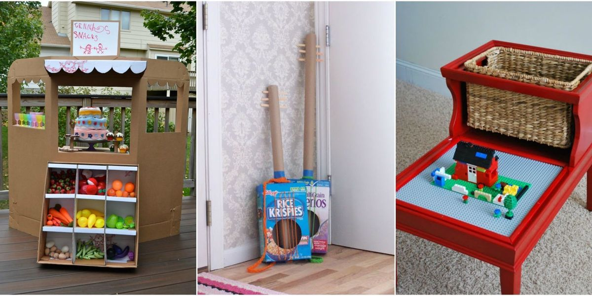 15 Trash-to-Treasure Crafts That'll Entertain Your Kids for Less