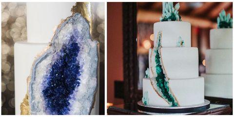 Geode Wedding Cake.Geode Wedding Cakes Trendy Wedding Ideas