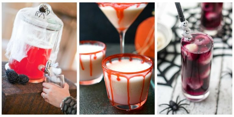 21 Easy Halloween Punch Recipes - Alcoholic Punch Ideas for Halloween
