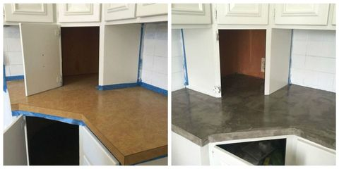 This Brilliant Diy The Easiest Way Fake Concrete Countertops How Make Look Cement