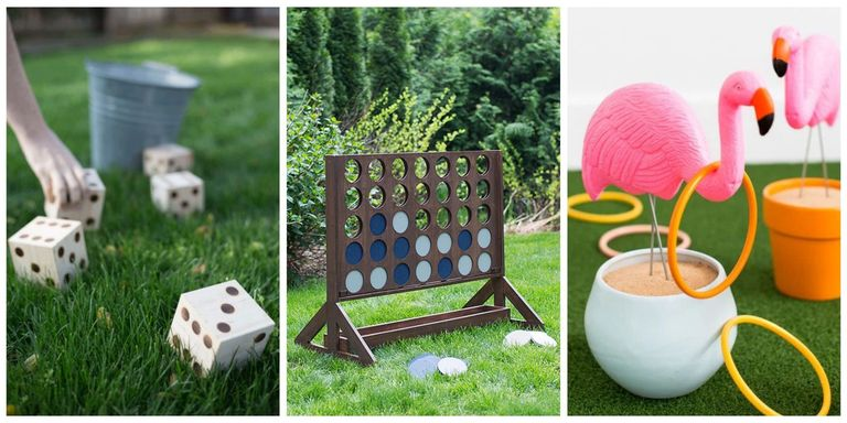 homemade outdoor games for kids. Make Your Next Backyard Bash A Hit With These DIY Lawn Games. Homemade Outdoor Games For Kids T