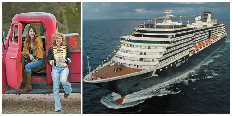 Country Living Cruise Holland America Nieuw Amsterdam - Living on cruise ship