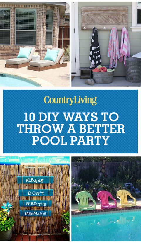 Diy Pool Ideas Pool And Backyard Decorating Ideas