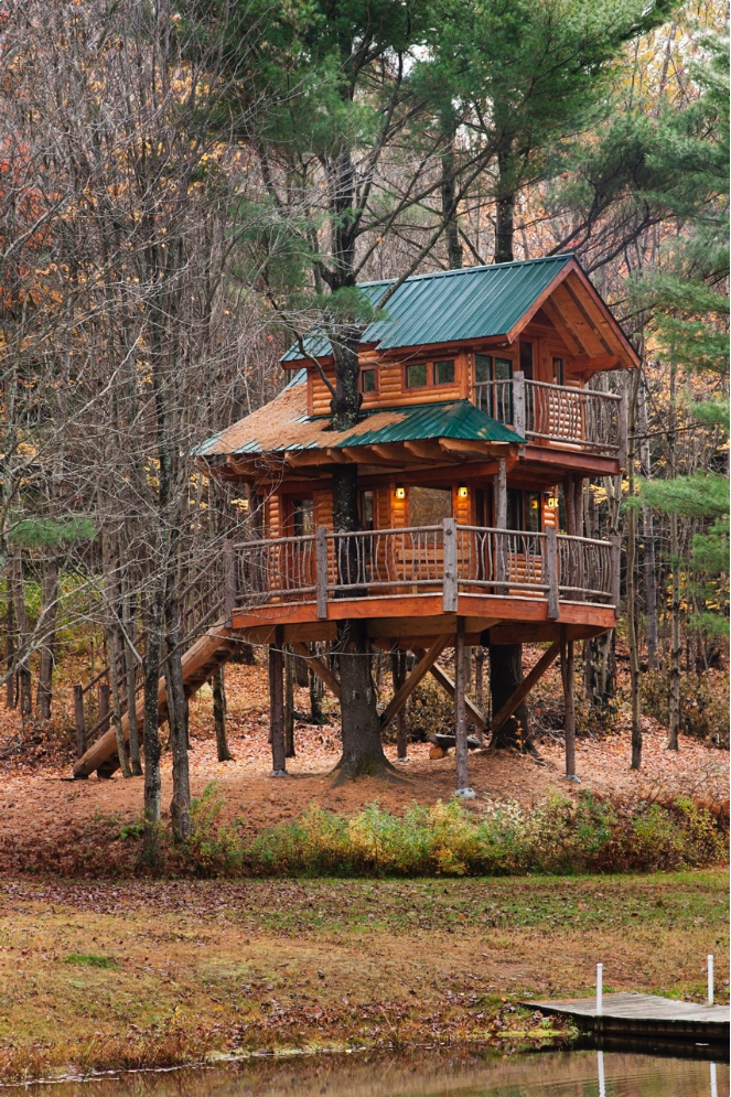 Treehouse Hotels - American Vacation Ideas