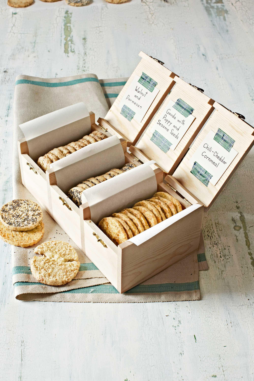 savory cracker sampler