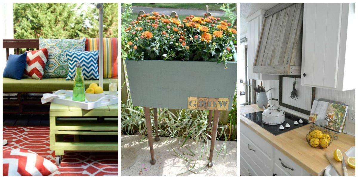 22 DIY Reclaimed Wood Projects - Crafts with Repurposed ...