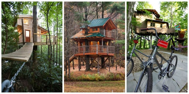 Treehouse hotels american vacation ideas take a relaxing yet active getaway to these dreamlike treehouses sisterspd