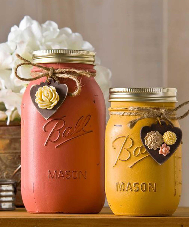 30 mason jar fall crafts autumn diy ideas with mason jars reviewsmspy