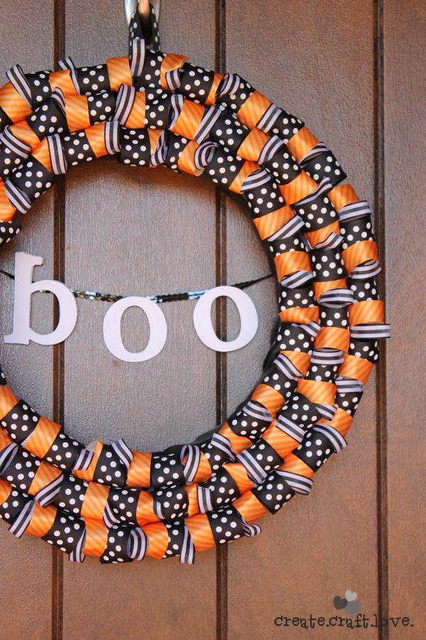 37 Diy Halloween Wreaths How To Make Halloween Door Decorations Ideas