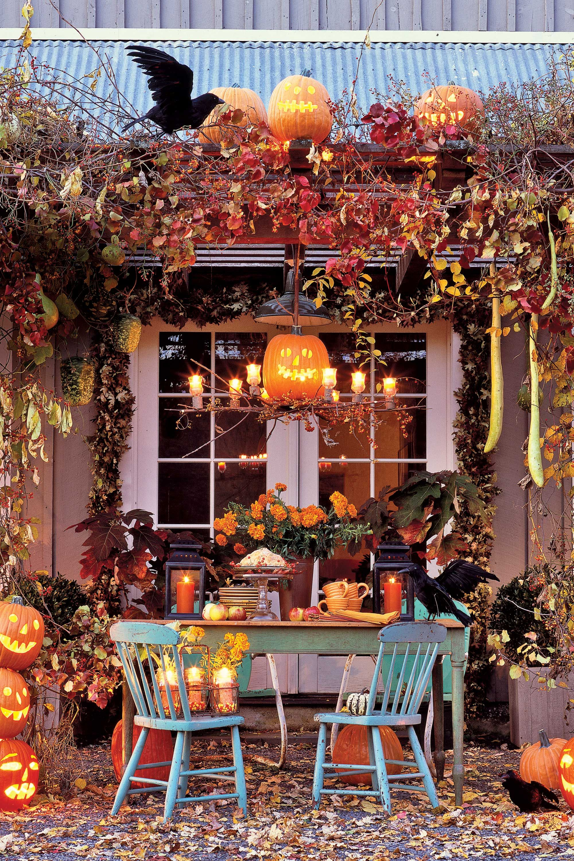 halloween wonderland party decor