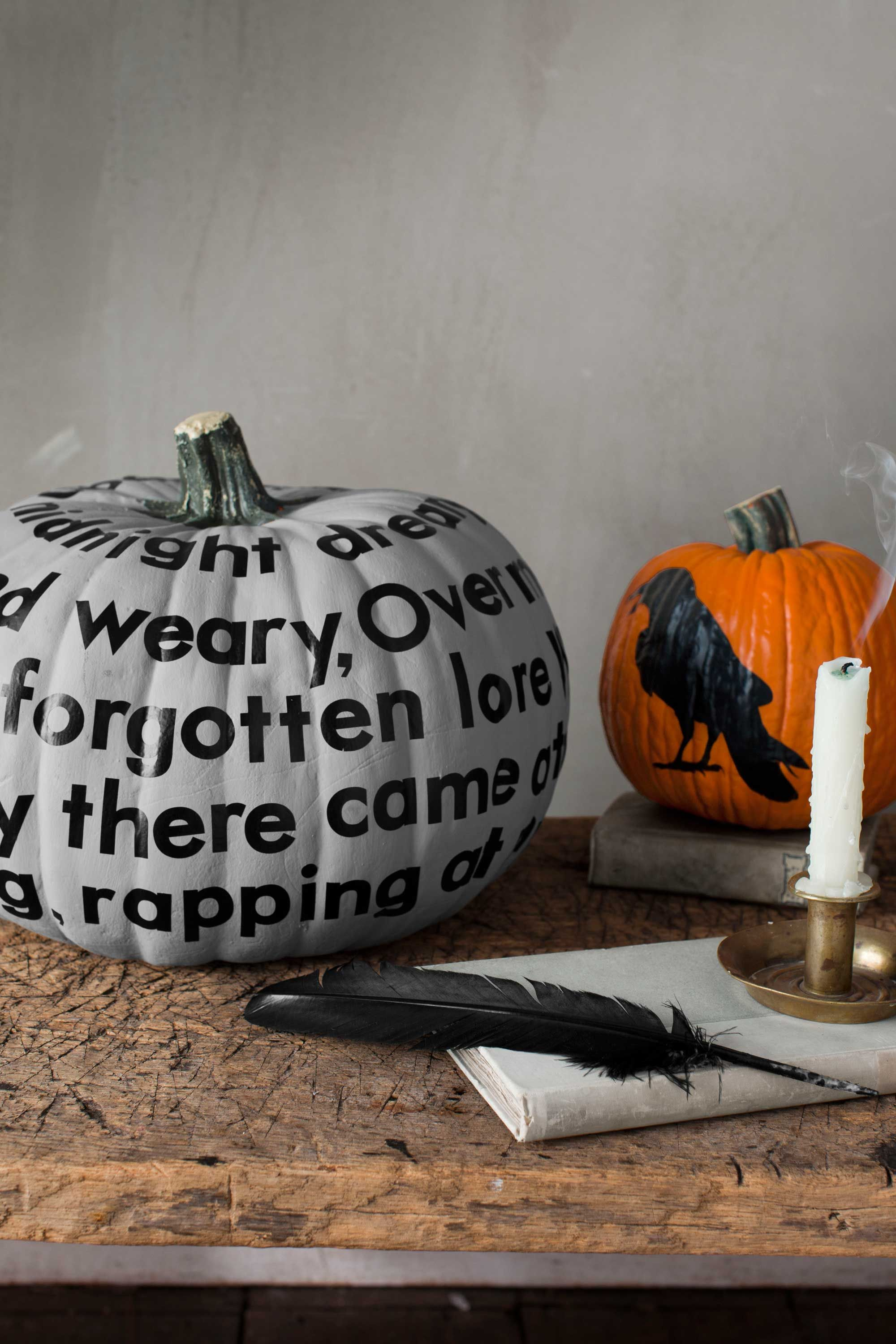 57 Easy Painted Pumpkins Ideas - No Carve Halloween Pumpkin Painting ...