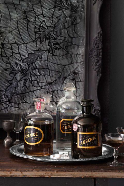 halloween poison drink diy