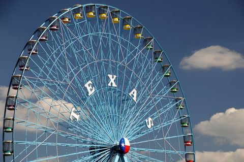 Nature, Ferris wheel, Daytime, Colorfulness, Infrastructure, Spoke, Recreation, Photograph, Amusement ride, Line,