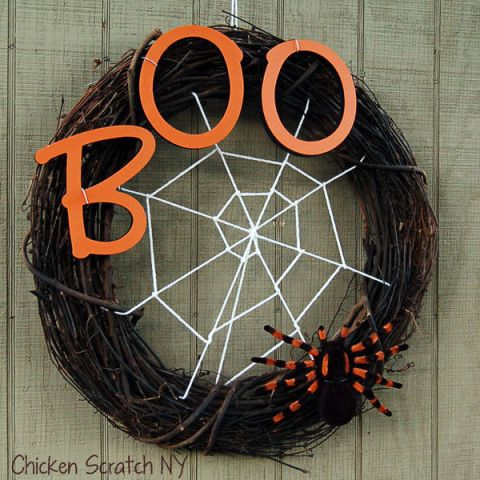 Image result for halloween wreath