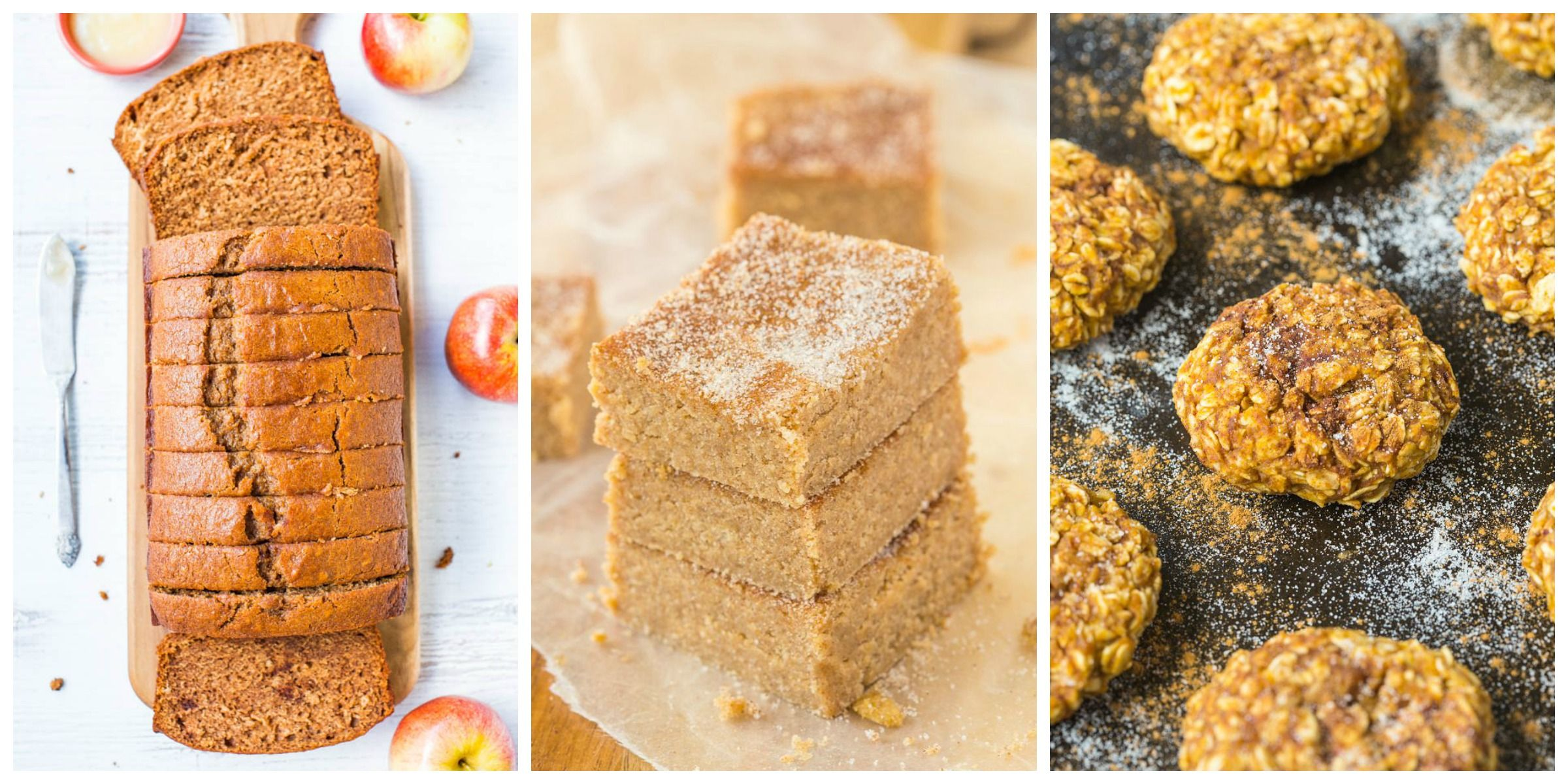 Healthy recipes made with applesauce
