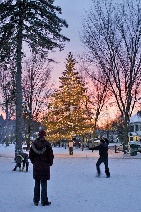 Christmas In Vermont.Christmas In Vermont Wassailing Weekend In Woodstock Vermont