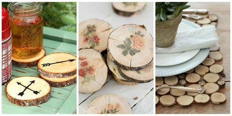 20 Easy Wood Slice Crafts Diy Wood Slice Project Ideas
