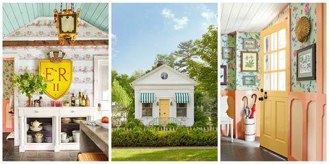 Real estate, Door, Home, Fixture, House, Home door, Porch, Light fixture, Paint, Column,