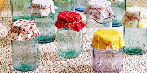 Glass, Drinkware, Aqua, Home accessories, Teal, Party supply, Present, Creative arts, Transparent material, Mason jar,