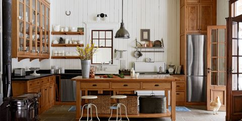 Wood, Room, Interior design, Floor, Furniture, Flooring, Cupboard, Table, Cabinetry, Interior design,