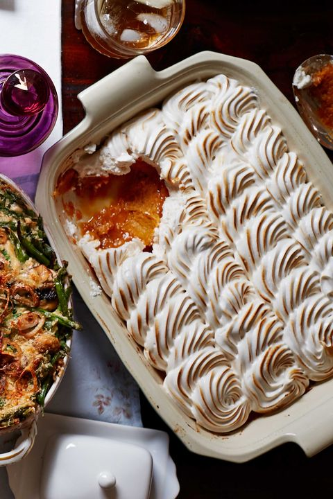 maple meringue sweet potato casserole recipe