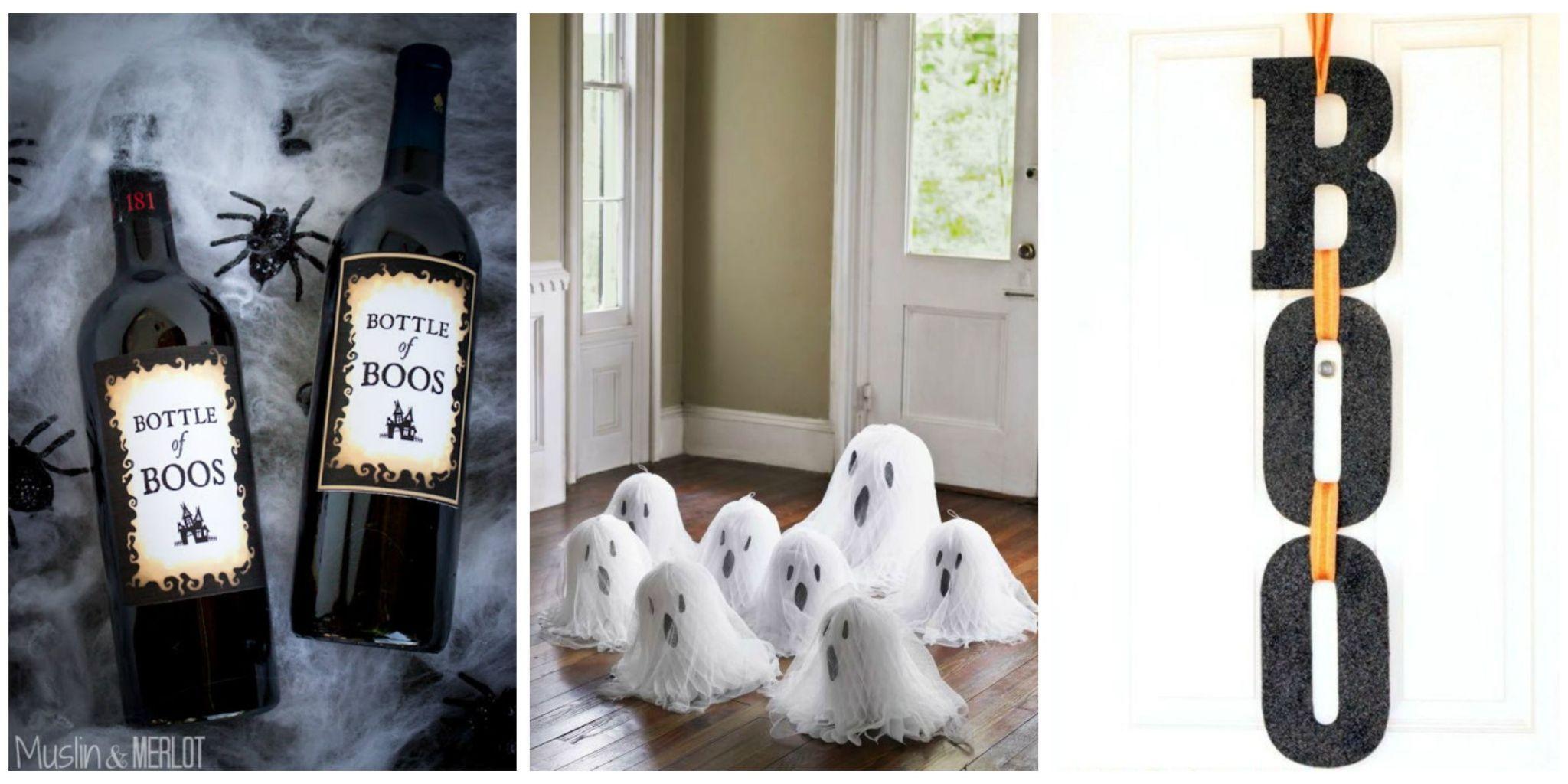 Halloween home decor diy