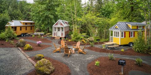 Mt Hood Tiny House Village Tour Oregon Als