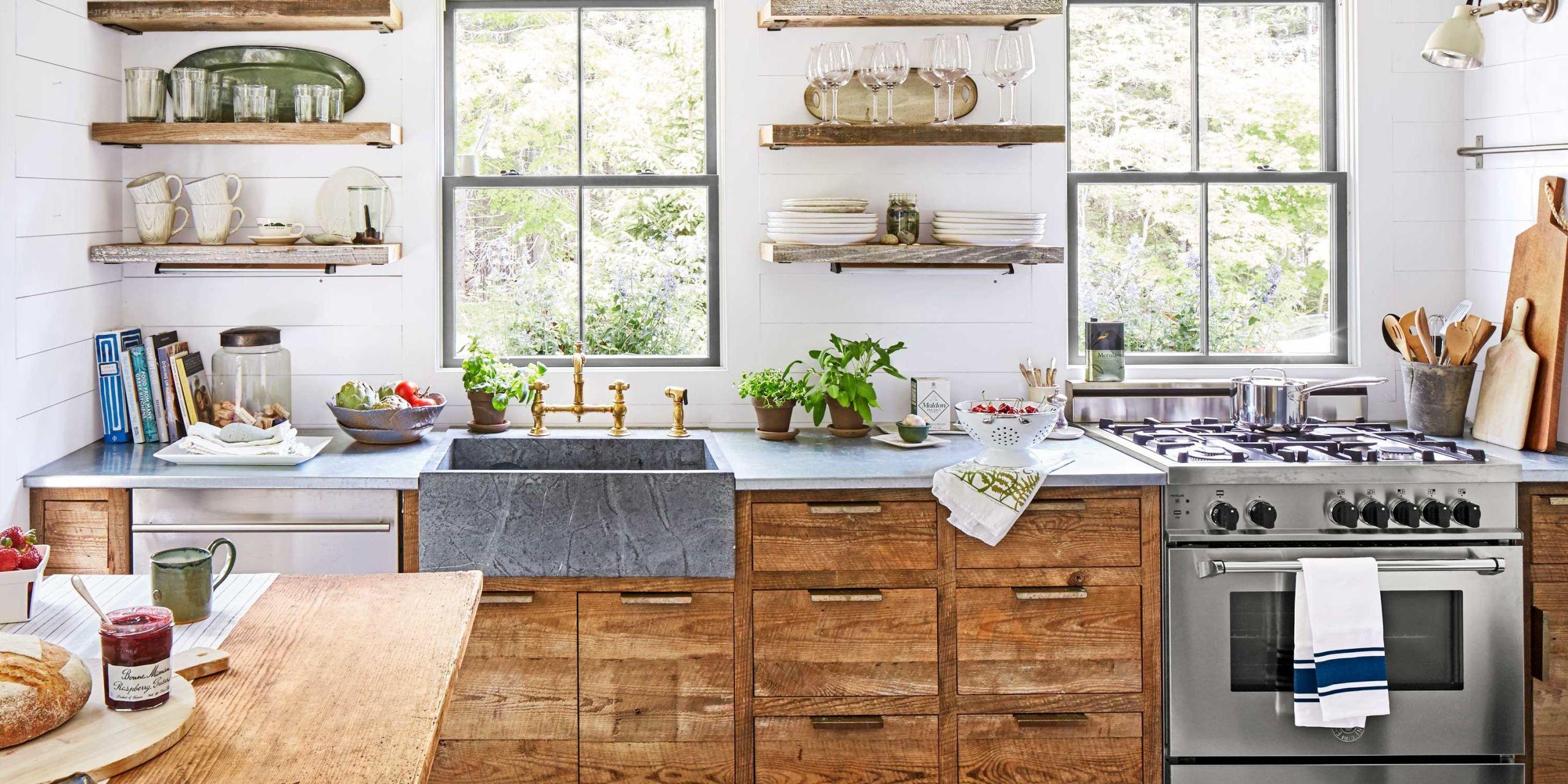 Custom Country Kitchen Ideas Interior