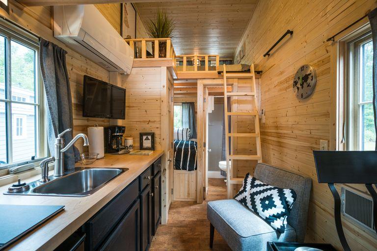 tumbleweed tiny house company - Tumbleweed Tiny House Interior