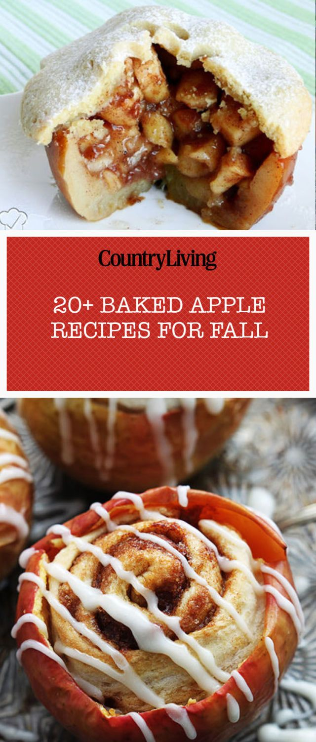 23 Fall Baked Apple Recipes , Easy Ideas for Stuffed Apples
