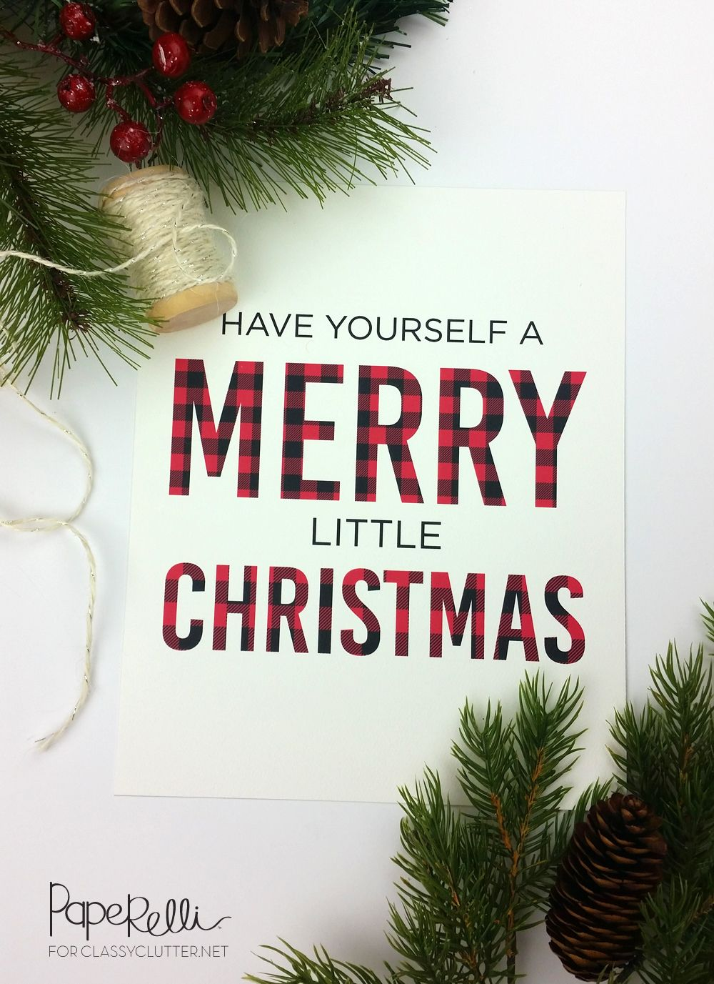 38 Free Christmas Printables - Holiday Cards And Gift Tags To Print
