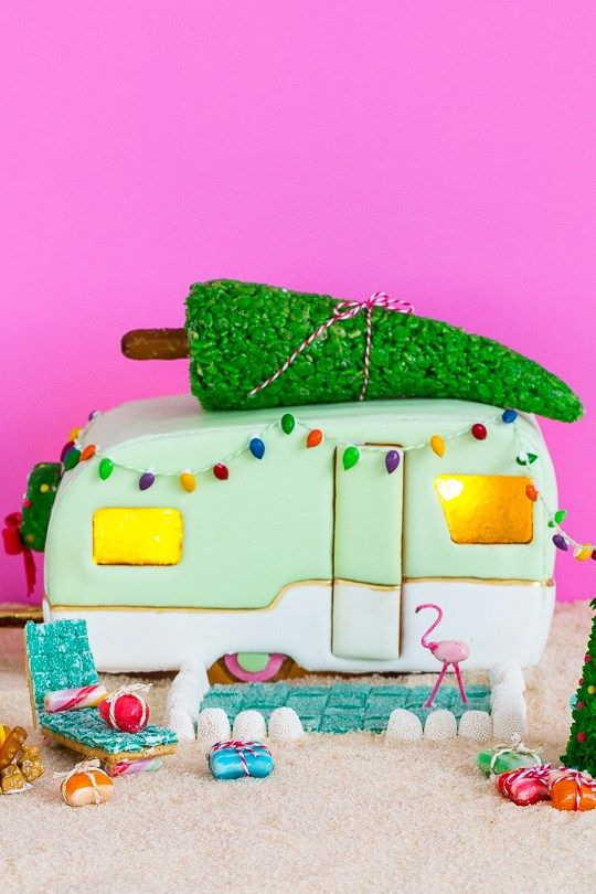 25 Cute Gingerbread House Ideas & Pictures - How to Make a ...