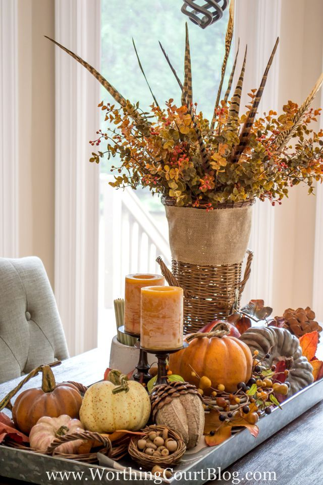 43 fall table centerpieces autumn centerpiece ideas rh countryliving com