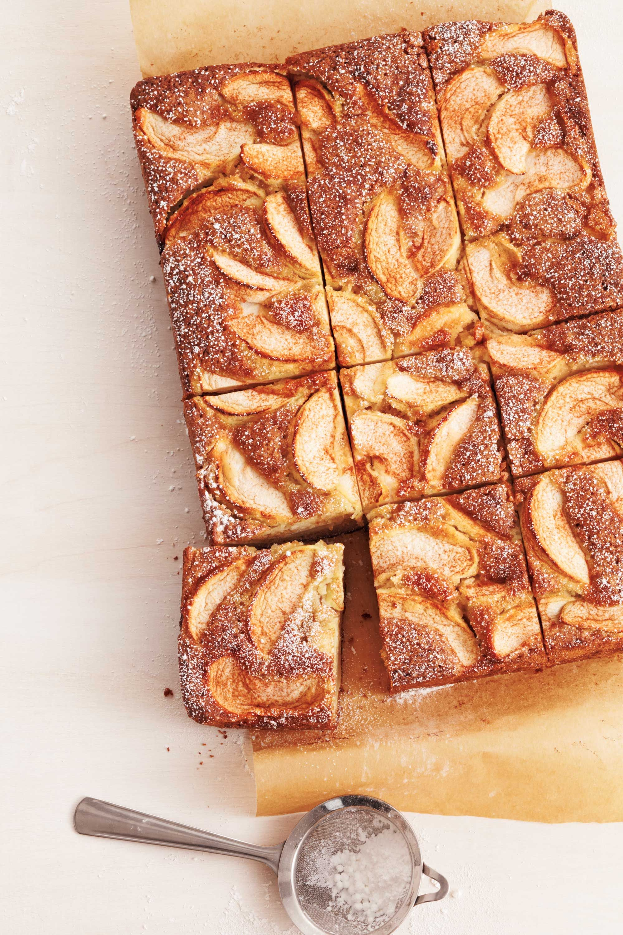 Apple-Cardamom Cakes with Apple Cider Icing picture