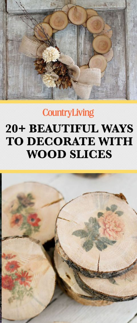 20 Easy Wood Slice Crafts Diy Wood Slice Project Ideas