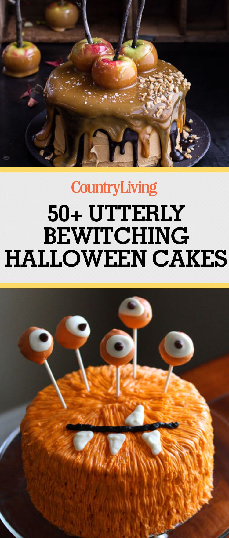 61 Easy Halloween Cakes - Recipes and Halloween Cake Decorating Ideas