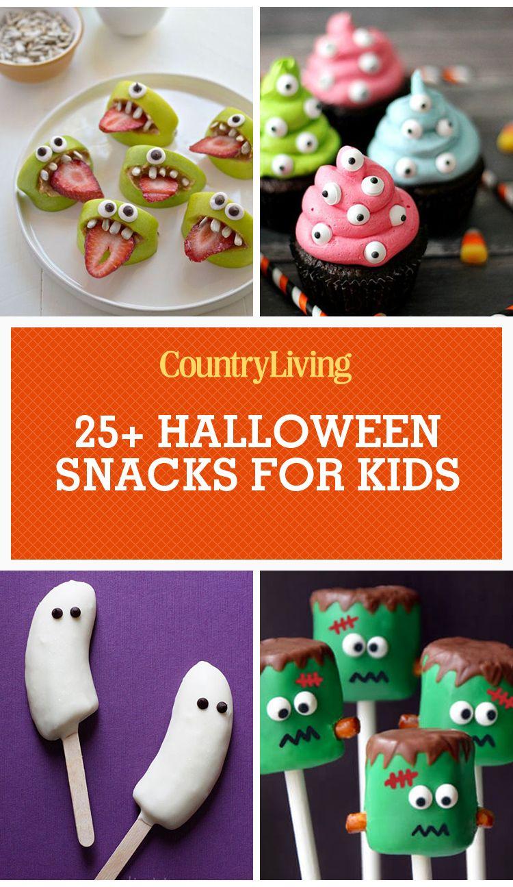 31 Halloween Snacks for Kids - Recipes for Childrens Halloween ...