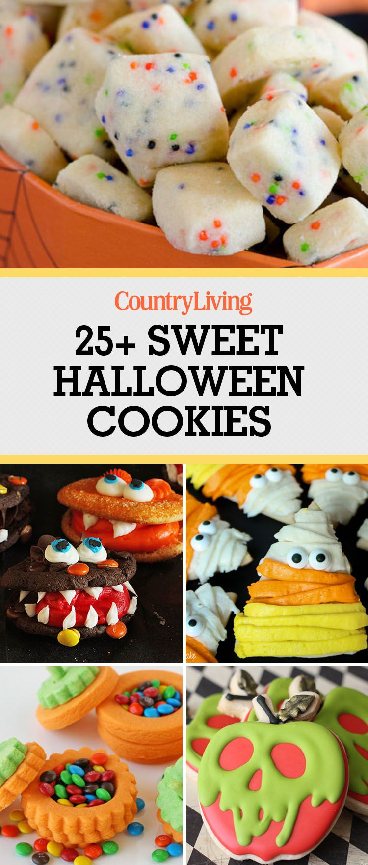 35 easy halloween cookies - recipes & ideas for cute halloween cookies