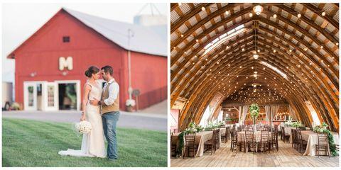 Upstate New York Barn Wedding - Hayloft on the Arch