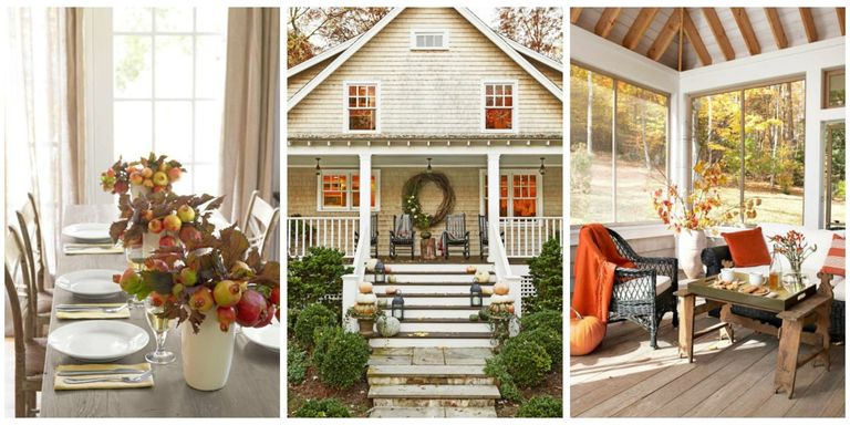 Say goodbye to summer by adding a few cozy autumnal touches around your house