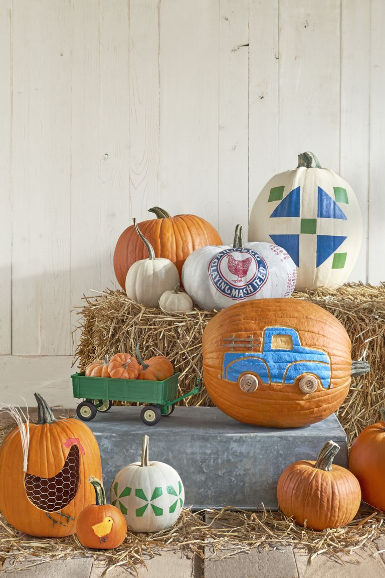 Creative pumpkin decorating ideas easy halloween