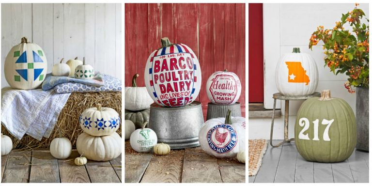 Painted Pumpkin Ideas Desings For Kids And Beginners