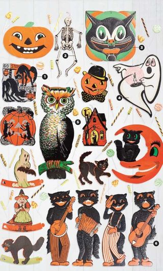 Beistle Company's Vintage Halloween Party Goods The